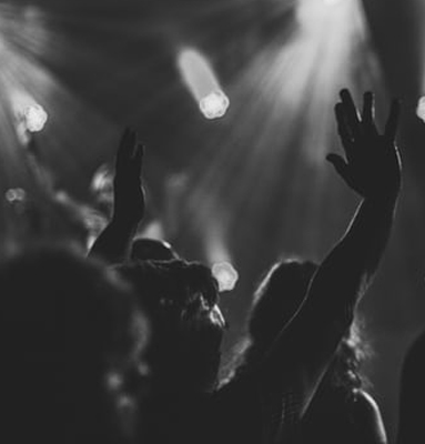 Photo of a black church choir.